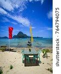 coron  philippines   jan 4 ... | Shutterstock . vector #764794075