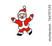 vector illustration of santa...   Shutterstock .eps vector #764797195