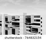 architecture building 3d... | Shutterstock . vector #764832154