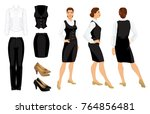 vector illustration of... | Shutterstock .eps vector #764856481