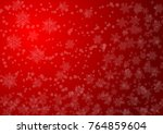 merry christmas and new year... | Shutterstock .eps vector #764859604