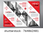 business brochure. flyer design.... | Shutterstock .eps vector #764862481