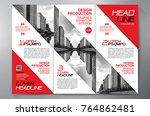 business brochure. flyer design....   Shutterstock .eps vector #764862481