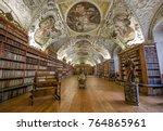 prague  czech republic  ... | Shutterstock . vector #764865961
