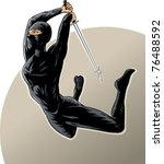 Ninja Girl Using The Dreaded...