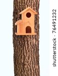 Modern Starling House On A Tre...