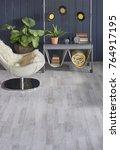 modern grey panel wall... | Shutterstock . vector #764917195