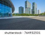 cityscape and skyline from... | Shutterstock . vector #764932531