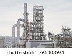 industrial zone the equipment... | Shutterstock . vector #765003961