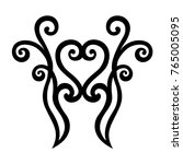 tattoo tribal maori vector... | Shutterstock .eps vector #765005095