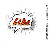 comic collection word like... | Shutterstock .eps vector #765007675