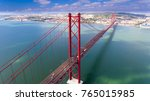 aerial panorama view over the... | Shutterstock . vector #765015985