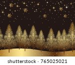 a seamless snowy landscape ...   Shutterstock .eps vector #765025021