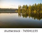 northern michigan wilderness... | Shutterstock . vector #765041155