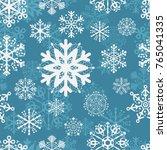 pattern background blue... | Shutterstock .eps vector #765041335