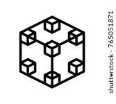 3d gui   nodes | Shutterstock .eps vector #765051871
