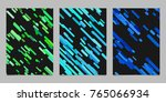 seamless chaotic rounded... | Shutterstock .eps vector #765066934
