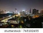 outdoor panoramic scenic view... | Shutterstock . vector #765102655