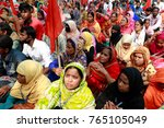 dhaka  bangladesh   november 29 ... | Shutterstock . vector #765105049