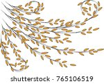 plant with the wind | Shutterstock .eps vector #765106519