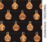 watercolor seamless pattern... | Shutterstock . vector #765119881