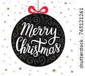 hand drawn lettering... | Shutterstock .eps vector #765121261