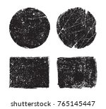 vector grunge shapes.grunge... | Shutterstock .eps vector #765145447