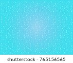 falling snow on blue background ...   Shutterstock .eps vector #765156565