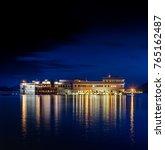 lake pichola and taj lake... | Shutterstock . vector #765162487