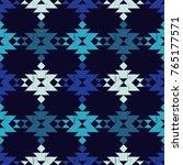 ethnic boho seamless pattern.... | Shutterstock .eps vector #765177571