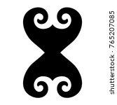 tattoo tribal maori vector... | Shutterstock .eps vector #765207085