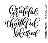 typographic vector quote... | Shutterstock .eps vector #765227269