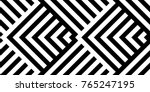 seamless pattern with striped... | Shutterstock .eps vector #765247195