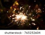 christmas holding bengal...   Shutterstock . vector #765252604