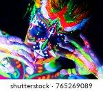 close up portrait of an...   Shutterstock . vector #765269089