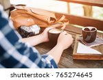 lifestyle  vacation  education... | Shutterstock . vector #765274645