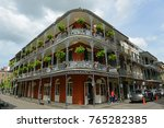 Small photo of NEW ORLEANS - MAY. 29, 2017: LaBranche House on 700 Royal Street in French Quarter in New Orleans, Louisiana, USA. This building, built in 1835, is one of the most famous building on Royal Street.