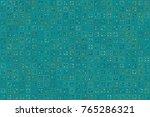 beautiful geometric pattern... | Shutterstock .eps vector #765286321