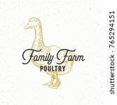 family farm poultry abstract... | Shutterstock .eps vector #765294151