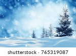 merry christmas and happy new... | Shutterstock . vector #765319087