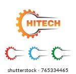 corporate gear advance...   Shutterstock .eps vector #765334465