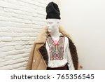 man mannequin dressed in... | Shutterstock . vector #765356545