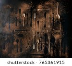 big set of vintage and... | Shutterstock . vector #765361915