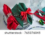 stylish designed red and green... | Shutterstock . vector #765376045