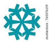 snowflake. element for winter...   Shutterstock .eps vector #765376159