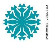 snowflake. element for winter...   Shutterstock .eps vector #765376165