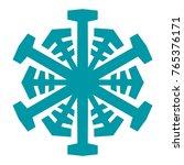snowflake. element for winter...   Shutterstock .eps vector #765376171