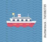 nautical symbol concept. ocean...   Shutterstock .eps vector #765382735