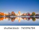 us capitol in washington dc... | Shutterstock . vector #765396784