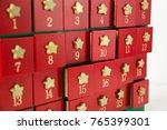 advent calendar made from wood   Shutterstock . vector #765399301